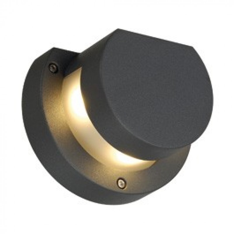 Anthracite Garden Wall Lights : SLV Kyklop Wall LED Warm White Outdoor Light Anthracite 231485