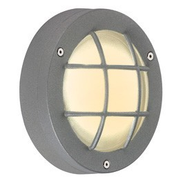 Delsin LED White Outdoor Ceiling & Wall Light Stone Grey 230822