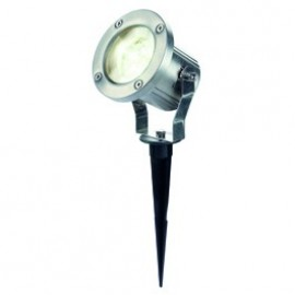 Nautilus LED 304S Outdoor Spotlight Brushed Stainless Steel 230812