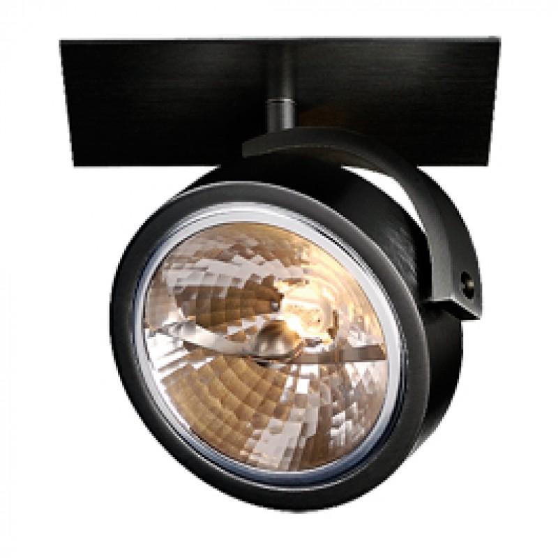 Kalu Recessed 1 Ceiling & Wall Light Black 113400