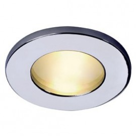 Dolix Out GU10 Round Downlight White , Chrome ,  Silver Grey & Titanium 111021