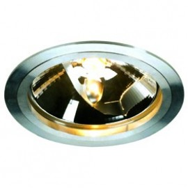 SLV Lighting Slim QRB Downlight Anodised Aluminium 111338
