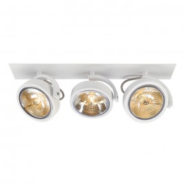 Kalu Recessed 3 Ceiling & Wall Light White 113421