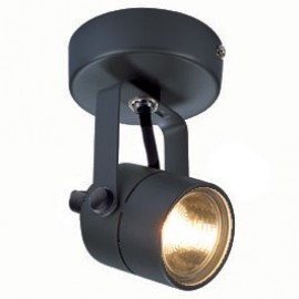 Spot 79 230v Ceiling & Wall Light Black, White Or Silver grey 132020