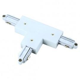 T Coupler 240v 1 Circuit Track Silver Grey, Black Or White 143071