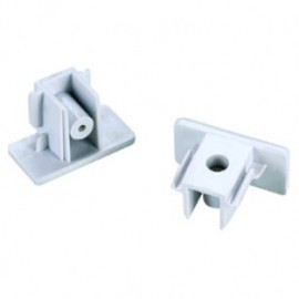 SLV 143131 End Caps White 1 Circuit 240V Track Accessory