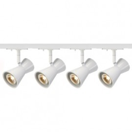 SLV Lighting 143341TK4 Diabo 35W 4 Light Track Kit White