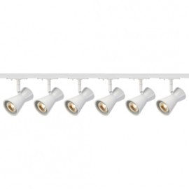 SLV Lighting 143341TK6 Diabo 35W 6 Light Track Kit White