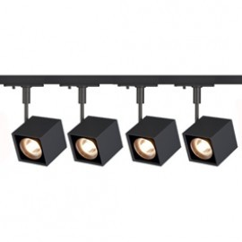 SLV Lighting 143350TK4 Altra Dice 50W 4 Light Track Kit Black