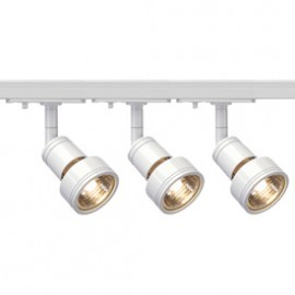 SLV Lighting 143391TK3 Puri 50W 3 Light Track Kit White