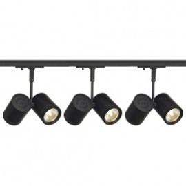 SLV 143430TK3 Bima 2 2x50W 3 Light Track Kit Black