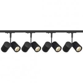 SLV Lighting 143430TK4 Bima 2 2x50W 4 Light Track Kit Black