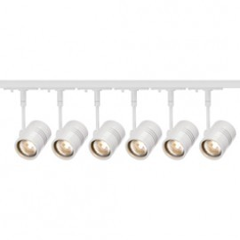 SLV Lighting 143441TK6 Bima 1 50W 6 Light Track Kit White