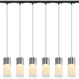SLV Lighting 143900TK6 Commo PD-1 Pendant 13W 6 Light Track Kit Black