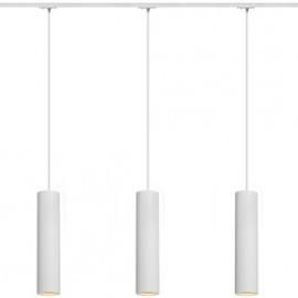 SLV 143961TK3 Enola B PD-1 Pendant 50W 3 Light Track Kit White