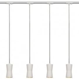 SLV 143981TK4 Diabo PD Pendant 35W 4 Light Track Kit White