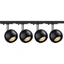 SLV Lighting 144010TK4 Light Eye 1 GU10 Spot 50W 4 Light Track Kit Chrome & Black