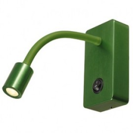 SLV PIPOFLEX wall light, green, 4WLED, 3000K 146705