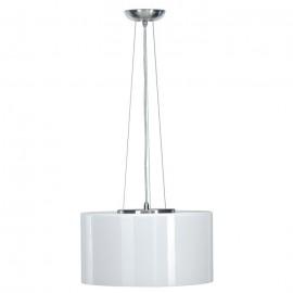 SLV Lighting 147213 Malang LED Slave RGB 8.5W & 40W Brushed Metal & White Pendant Ceiling Light