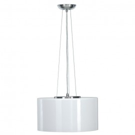 SLV Lighting 147223 Malang LED RGB 40W & 8.5W Chrome & White Pendant Ceiling Light (Stand Alone Version)