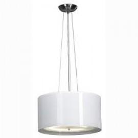 SLV Lighting 147203 Malang LED Master RGB 8.5W & 40W Brushed Metal & White Pendant Ceiling Light