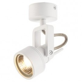 Inda Spot GU10 Ceiling & Wall Light Brushed Aluminium 147559