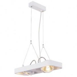 SLV 154901 Lynah LED 2x10W 3000K Pendant Light Matt White DIMMABLE