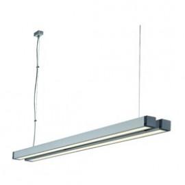 SLV Lighting Q-Line Double Pendant Light  Aluminium 155022