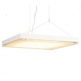 SLV Lighting T5 Grill Pendant Light White 157101