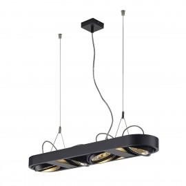 SLV Lighting Aixlight R Long QRB111 Pendant Light Black 159070
