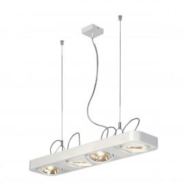SLV Lighting Aixlight R2 Long QRB111 Pendant Light White 159081