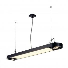 SLV Lighting Aixlight R Office T5 39w Pendant Light Black 159090