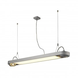 Aixlight R Office T5 39w Pendant Light Silver Grey 159094
