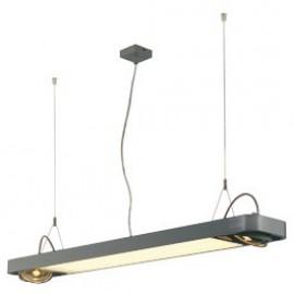 SLV Lighting Aixlight R2 Office T5 39w Pendant Light Silver Grey 159104