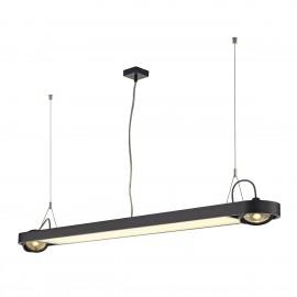 SLV Lighting Aixlight R Office T5 54w Pendant Light Black 159110