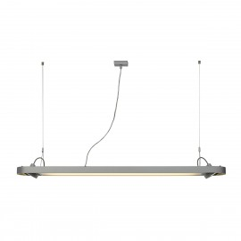 SLV Lighting Aixlight R Office T5 54w Pendant Light Silver Grey 159114