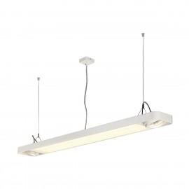 SLV Lighting Aixlight R2 Office T5 54w Pendant Light White 159121