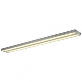 SLV KUNO CEILING light,silver-grey , 2x T5 54W, incl.PMMA diffuser 160774