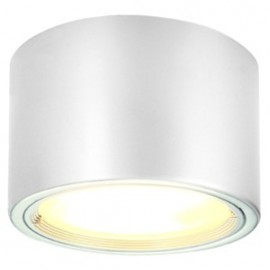 SLV PL 2x26w Ceiling Light Silver Grey Or White 161431