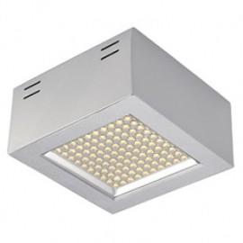 SLV 162494 LEDPanel 100 SMD 6.5W 3000K Silver Grey Surface Ceiling Light