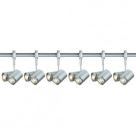 SLV 184442TK6 Bima 2 2x50W 6 Light Track Kit Silver Grey