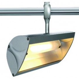 SLV Lighting Nepro R7s Easytec II 240v Track Light Silver Grey 184552