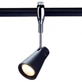 SLV Lighting Anaba Easytec II 240v Track Light Chrome / Black 185650