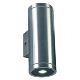 SLV Rox LED Up-Down Wall Light Brushed Aluminium 227232