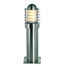 SLV Lighting Trust 30 Outdoor Bollard Light Stainless Steel 227932