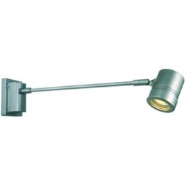SLV Myra Straight Outdoor Wall Light Silver Grey Or Anthacite 228842
