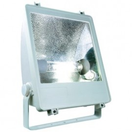 SXL HIT Floodlight 400w Outdoor Wall & Floor Floodlight Silver Grey 229012