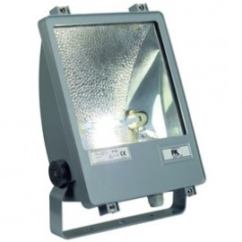 SXL HIT-DE Floodlight 70w Outdoor Ceiling, Wall & Floor Floodlight Silver Grey 229044