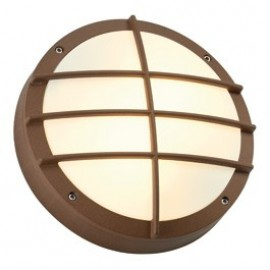 Bulan Grid Outdoor Ceiling & Wall Light White, Silver, Anthracite Or Copper 229081