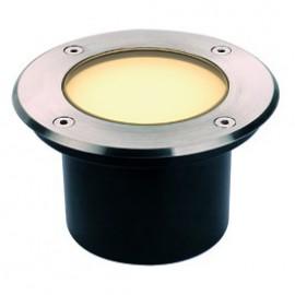 SLV DASAR 115 LED inground fitting, stainless steel 316, 3.8W,3000K, IP67 229312